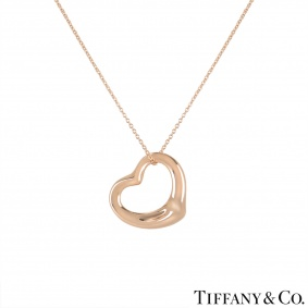 Tiffany & Co. Rose Gold Elsa Peretti Necklace